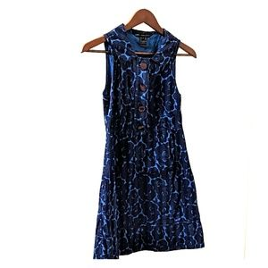 Marc by Marc Jacobs navy blue floral dress 4